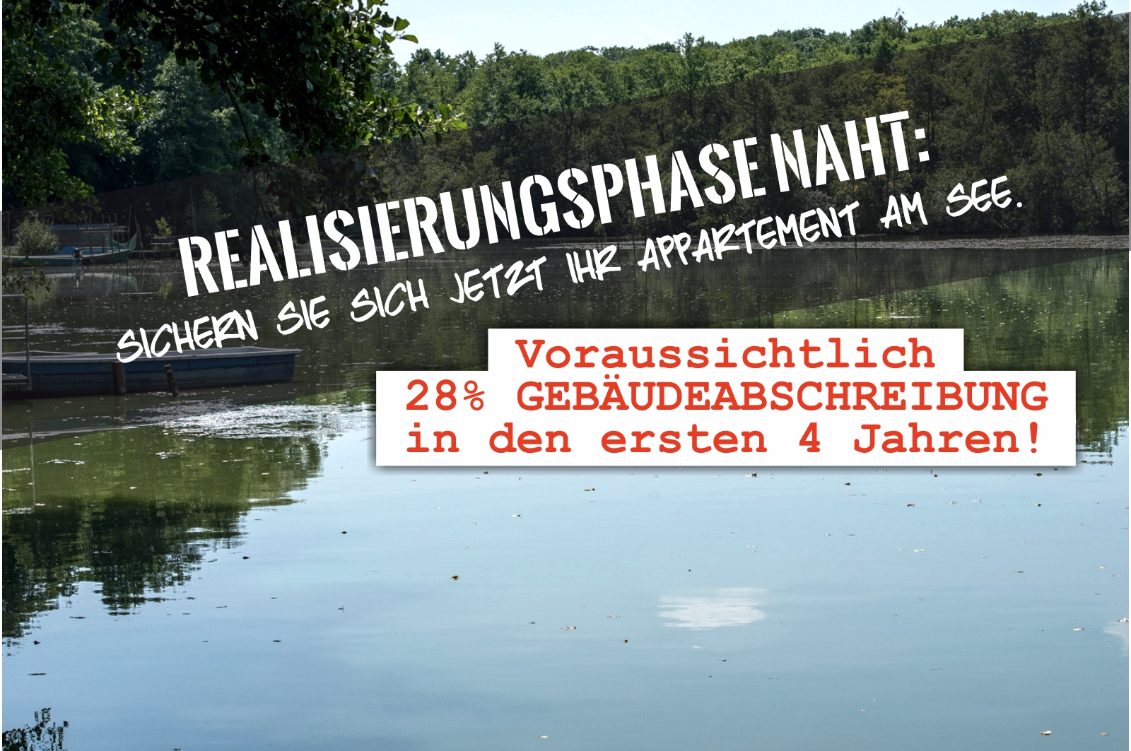 Klostersee: Wassergrundstück nahe Berlin