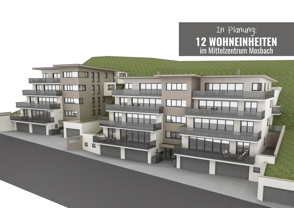Mosbach: Appartement-Häuser