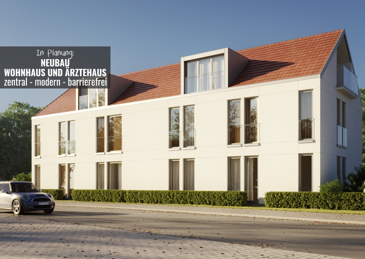 Tambach-Dietharz: Neubau Wohnhaus und Ärztehaus